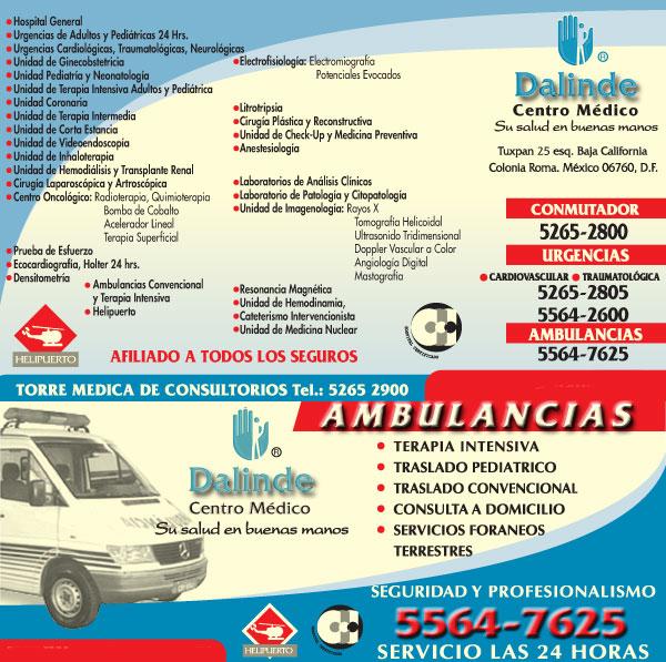 CENTRO MEDICO DALINDE / Sección Amarilla
