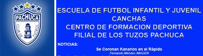 ESCUELA DE FUTBOL KANARIOS TUZOZ PACHUCA / Sección Amarilla