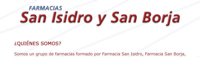 FARMACIAS SAN ISIDRO / Sección Amarilla
