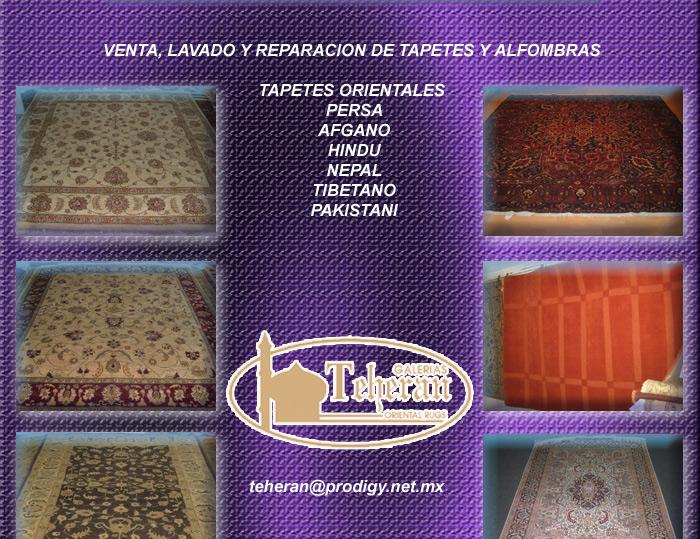 Galerias teheran secci n amarilla for Tapetes orientales